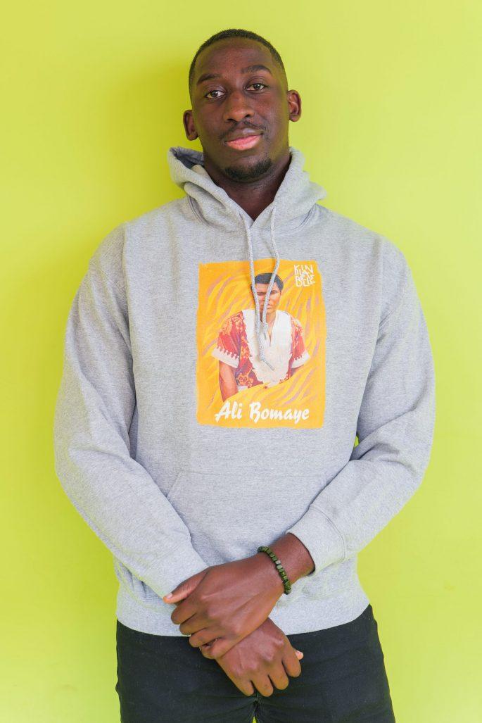 Hoodie à imprimé unisexe Ali Bomaye   Kin La Belle Urban Streetwear Vêtement Haut 1