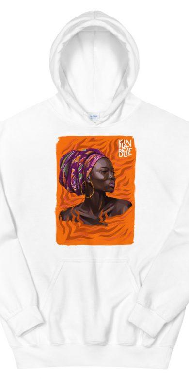Hoodie à imprimé unisexe | Kin La Belle Urban Streetwear Vêtement Haut à capuche