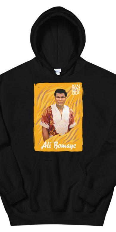 Hoodie à imprimé unisexe Ali Bomaye | Kin La Belle Urban Streetwear Vêtement Haut 2