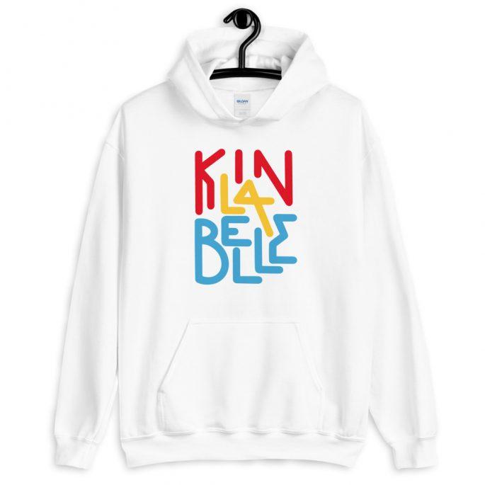 Hoodie à imprimé unisexe | Kin La Belle Urban Streetwear Vêtement Haut